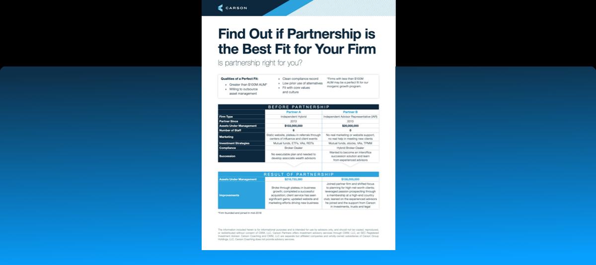 Best Partnership Resource Landing Page