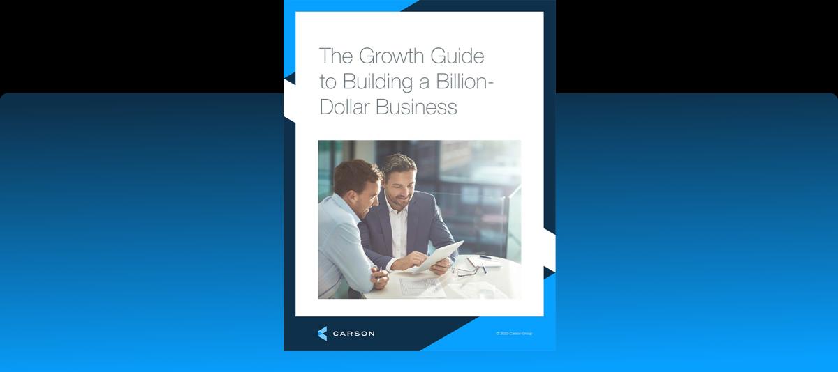 Build a Billion Dollar Business